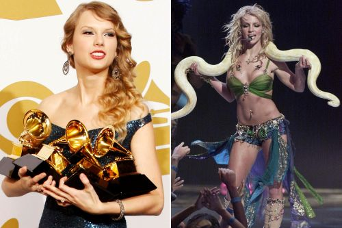 Everything Britney did, Taylor does better