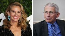 Dr. Fauci's PassTheMic Campaign Will Take Over Julia Roberts' Social Media Accounts