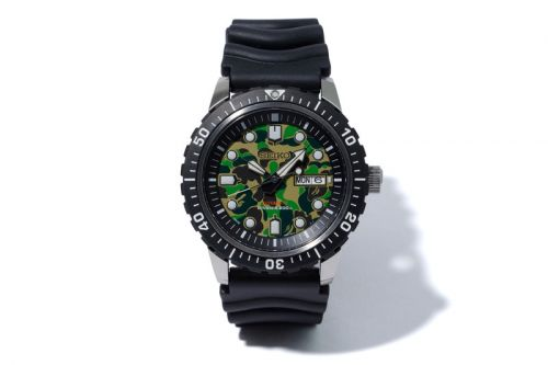 BAPE Collaborates With Seiko on a Diver's Watch