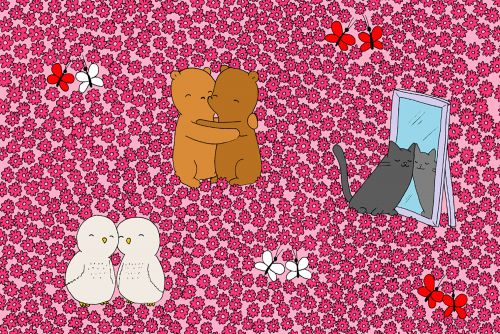 Valentine's Day brain teaser: Can you find the tiny heart?