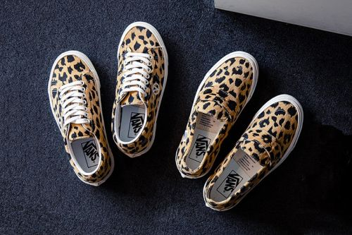 BILLY's Tokyo Bolsters Bold Leopard Prints in Exclusive Vans Release