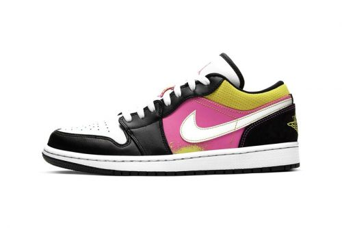 "Air Jordan 1 Low SE ""Cyber"" Offers Cheerful Colorblocking"
