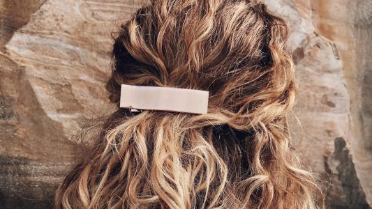 Steph Gets so Many Compliments Every Time She Wears This $14 Barrette