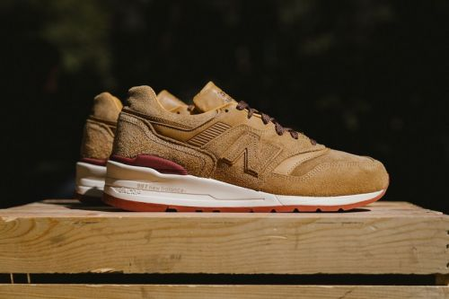 A Closer Look at the Stunning New Balance x Red Wing Shoes M997