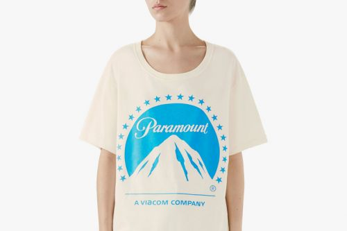 Gucci Releases Paramount Film Studio Logo T-Shirt for $590 USD