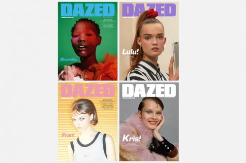 A Confused Fashion Special: Dazed's spring issue is here!