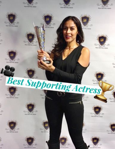 BMA Artist LA Rodgers Wins Best Suppoting Actress At FILM FESTIVAL GUILD!