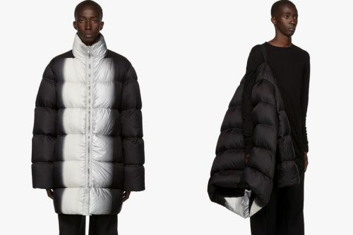 Rick Owens Drops Down-Filled Quilted Jumbo Duvet Jacket