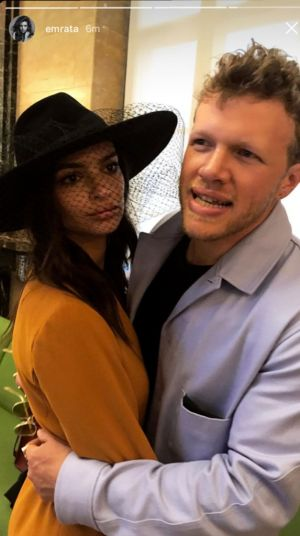 Off The Market! Emily Ratajkowski Marries Boyfriend Of A Few Weeks In Surprise Courthouse Wedding
