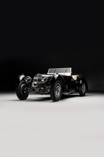 All Eyes Are on This 1937 Bugatti Type 57S For Bonhams' Legends of the Road Sale