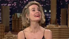 Sarah Paulson Takes Impressions To Next Level On 'Tonight Show'