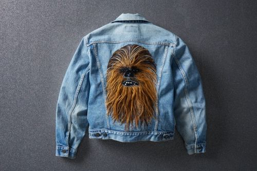 Levi's Authorised Vintage Crafts Limited-Edition Chewbacca Trucker Jacket
