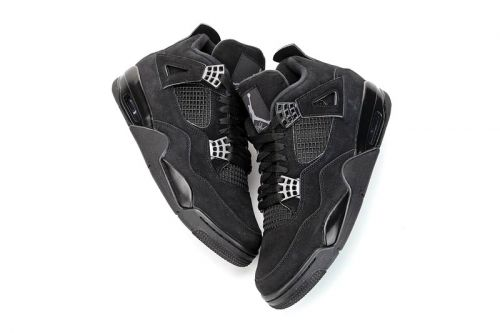 "An Early Look At The Air Jordan 4 ""Black Cat"" 2020 Retro"