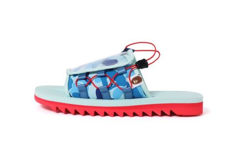 BAPE & Suicoke's Collaborative DAO Sandals Receive Western Release