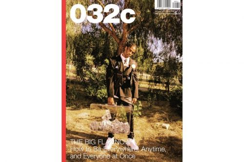 Travis Scott Covers '032c' Summer Issue