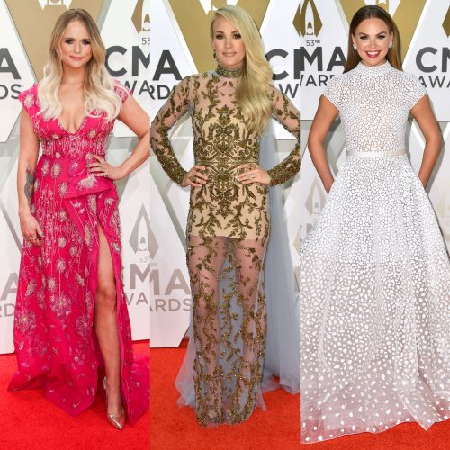 Carrie Underwood, Hannah Brown and More Slay the Red Carpet at the 2019 CMAs