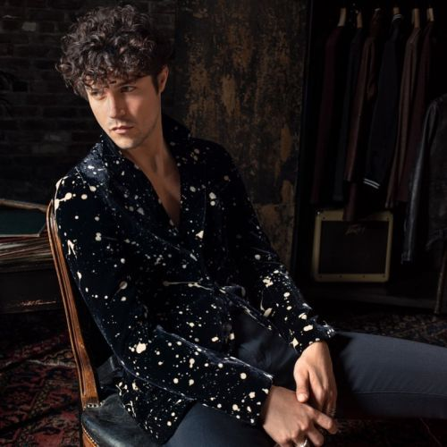 Miles Embraces Cool Style in John Varvatos x Led Zeppelin Capsule