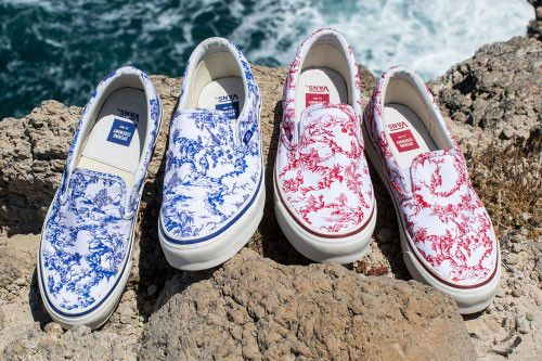 Opening Ceremony Rejoins Vans for Chinese Porcelain Patterned Slip-Ons
