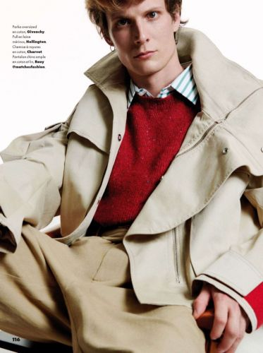 Felix Slips Into Chic Numbers for GQ France