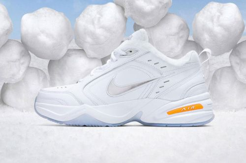 """Nike's Air Monarch Gets Cozy with a New """"Snow Day"""" Colorway"""