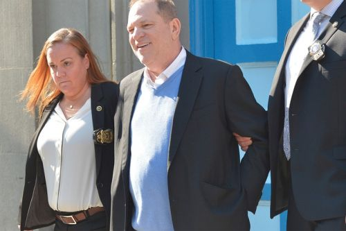 Harvey Weinstein Officially Turns Himself in to the NYPD