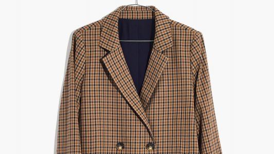 Maria Is Dreaming Up Outfits for Fall Involving This Plaid Blazer