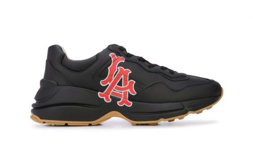 Gucci Taps the Los Angeles Angels for Latest Rhyton Sneakers