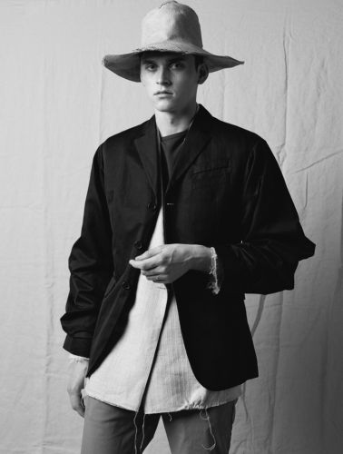 Anders Hayward Dons Rustic Tailored Style for Vanity Fair España