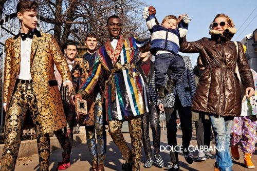 Dolce & Gabbana Shares Dandy Style with Milan for Fall '19 Campaign