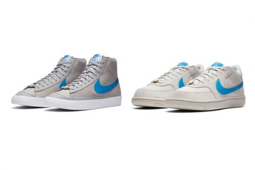 """Nike Blazer Mid '77 and Sky Force 3/4 """"Grey Fog"""" Pay Homage to Coney Island"""