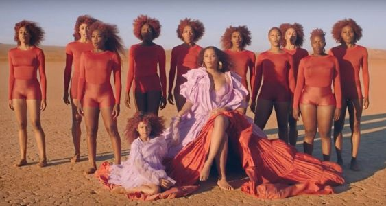 Fans think there is a secret message in the hair of Beyonce's 'Spirit'