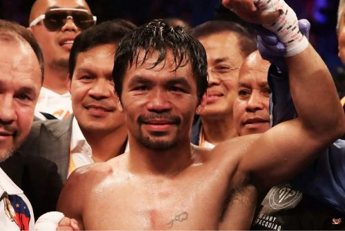 Manny Pacquiao Becomes Oldest Welterweight Boxing Champion