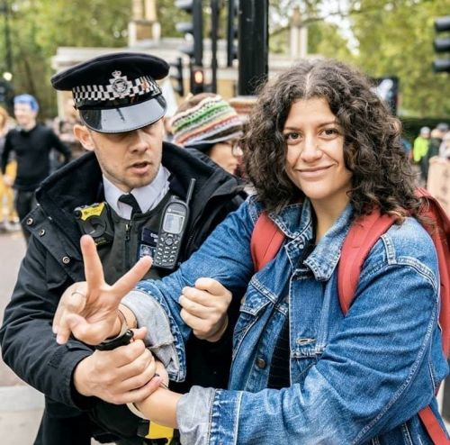 What it's like to be arrested at an Extinction Rebellion protest