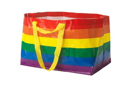IKEA Lunches Rainbow Shopping Bag for Pride Month