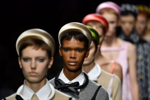 The Definitive List of Models of Color that Walked Prada