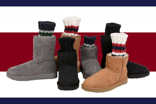 Ten Loves: Ugg x Sacai Knit Classic Boots