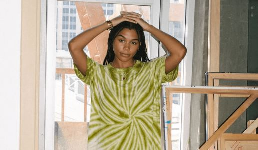This Tie-Dye T-Shirt Dress Combines Whitney's Favorite Summer Staples