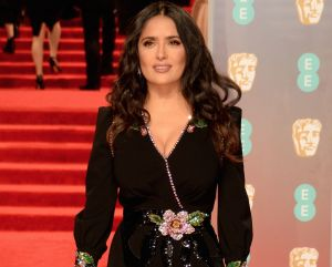 Salma Hayek Switches Up Her Hair Again At The BAFTAs