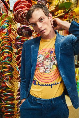 Rocky Takes to Candy Shop in Todd Snyder x Looney Tunes Collection