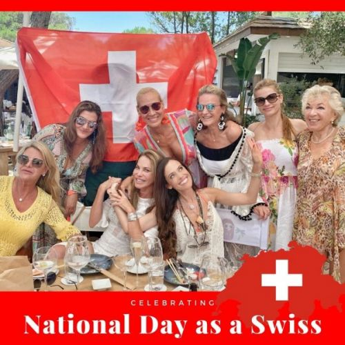 Celebrating National Day as a Swiss