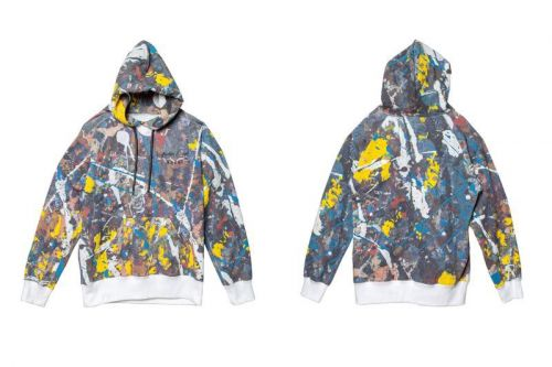 Sacai and Jackson Pollock Studios Create Drip Painted Collection