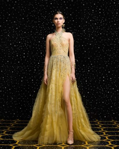 The poetry of the Infinite - GEORGES HOBEIKA Ready-To-Wear