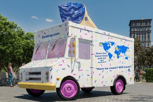 Sprinkle Some Sweetness Into Your Staycation With a Night in an Ice Cream Truck