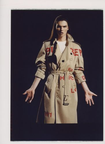 Christian Heritage Rocks Riccardo Tisci's Burberry for SSENSE