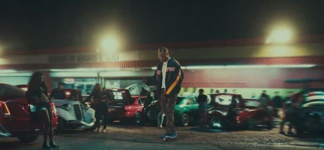 Travis Scott teams up with Drake in his new video