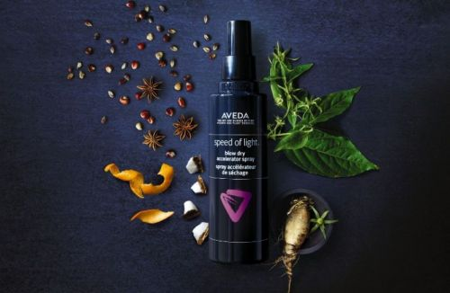 Accelerate your blow dry at the Speed of Light with Aveda