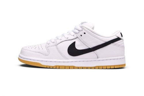 """Nike SB Offers a White Dunk Low Variant to """"Orange Label"""" Collection"""