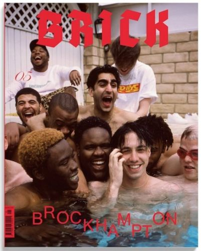 Brockhampton fronts the new edition of hip hop magazine Brick