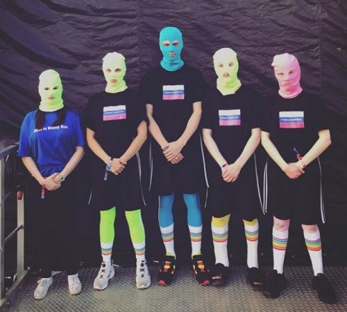 Pussy Riot staged a protest at the World Cup final