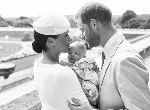 Archie Harrison's Christening Photos are Absolutely Gorgeous
